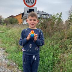 Hier hat die HTG Ente in Koratien in dem kleinen Dorf Mraclin bei Zagreb die Großeltern von Ivo besucht!