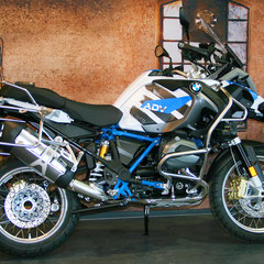 Design Folie STROKE - Keine Aufkleber aber Carwrap-Folie fuer BMW R1200GS K25 und K50 K51 LC normal und Adventure