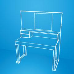desk, consolle, scrittoio