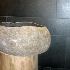 Fliesen Demmel – originelles Waschbecken