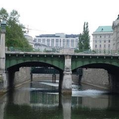 Mündung Wienfluß
