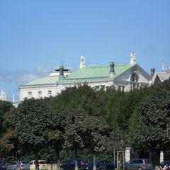 Burggarten mit Parlamentblick