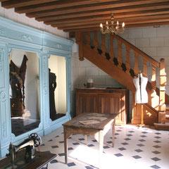 Escalier style Louis XIII, Musée des Métiers