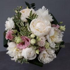 Bouquet rond ROMANTIQUE PARFUMÉ