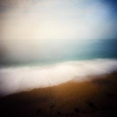 Étretat, 2017-03, Zone plate argentique, 40 cm x 40 cm, tirage impression Hahnemühle - William Turner - 1/5 - © Annick Maroussy