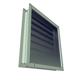 persiana de paso en puerta cero visibilidad