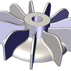 Ventilador para motores siemens, weg, baldor, us motors