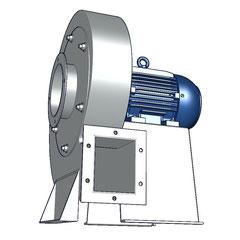 Aspas de aluminio para ventiladores Industriales SOPLADOR