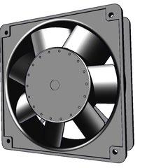 ventilador para tablero de 12 x 12 cm