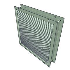 Rejilla de paso en puerta ventiladores industriales for Ventiladores para oficina