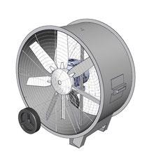 circulador de aire industrial tipo lasko