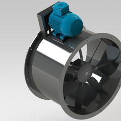 Ventiladores de Aspas de Aluminio