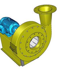ventiladores industriales de gran caudal