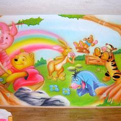 Wandmalerei / Kinderzimmer