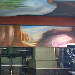 Wandmalerei / Lokal