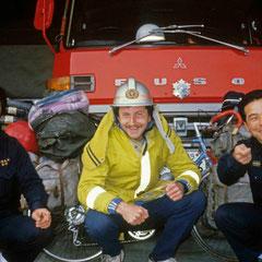 Japon. Accueil chez les pompiers nippons