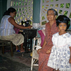 Sri Lanka. Hébergement dans une famille