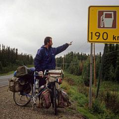 Pas de souci de carburant pour un cycliste qui roule à l'eau fraîche!