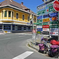 Sur la route en Autriche