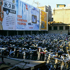 Chine. Parking vélo