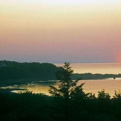 Coucher de soleil sur le Saguenay