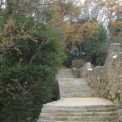 Réparation d'escaliers publics à Uzès (30)