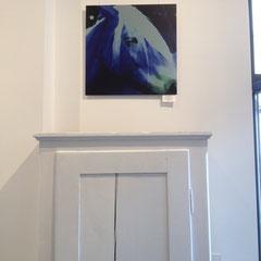 """Blue Beauty"" 2014; digitalART-Fotokunst in der Galerie WAAS"