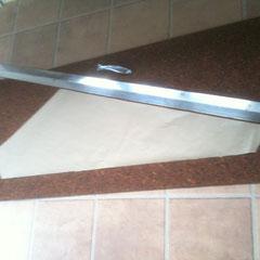 Zuschneiden mit Papier-Schablone