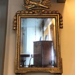 No 39 Franse provinciale Louis XVI spiegel (Laatste kwart achttiende eeuw)  112 c/m hoog 64 c/m breed , prijs op aanvraag.