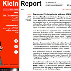 Klein Report, 29. April 2013
