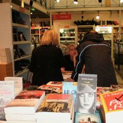 Dédicace à la librairie Chapitre d'Arras