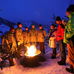 Torchlight hikes at Salzburg Mountain Advent in Grossarl