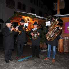 Musicians at Salzburg Mountain Advent in Grossarl