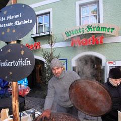 Salzburger Bergadvent - Gebratene Mandeln
