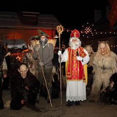San Nikolaus, Krampus e Perchten a Grossarl