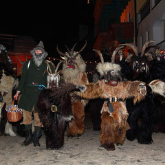 Krampus at the Salzburg Mountain Advent in Grossarl