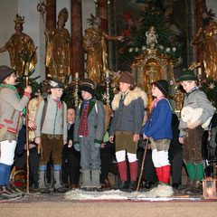 Herdsmen Game at Salzburg Mountain Advent in Grossarl