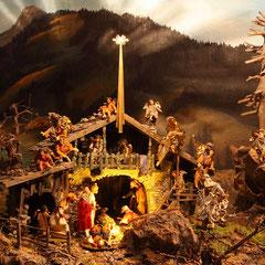 Krippenausstellung beim Salzburger Bergadvent im Großarltal