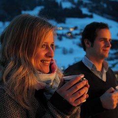 Hot wine and punch at Salzburg Mountain Advent in Grossarl