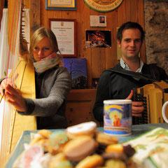 Avvento in montagna del Salisburghese nella valle Grossarltal