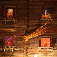 Advent calender at Salzburg Mountain Advent in Grossarl