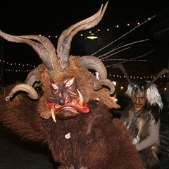 Krampus at Salzburg Mountain Advent in Grossarl