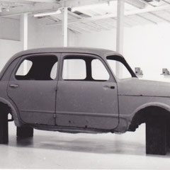 Alfons Egger KONZERT Galerie Krinzinger Fiat 1100 N 1989