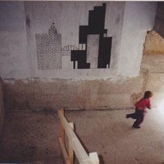 Alfons Egger interregnum Sgraffito 1992