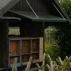 So sah das Bienenhaus vor der Arbeit aus