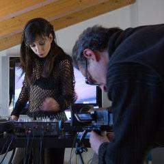 Video del backstage della sessione di ripresa con Lilith Di Fede