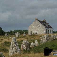Megalithen bei Carnac Frankreich © Foto: Holger Hütte 2014