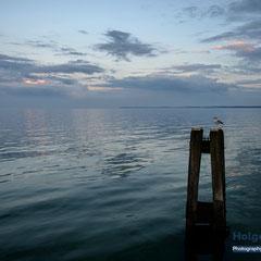 Abendliche Ostsee bei Scharbeutz © Foto: Holger Hütte 2014