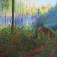 The truth of solitude. Acrylic on canvas.80 x1 20cm,