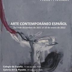 MECA en París. Colegio de España y Art Planéte